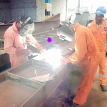 Welding Training at Vital Construction