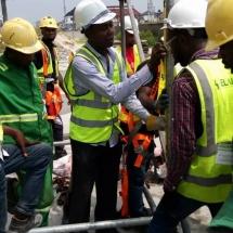 Scaffold Training at Elalan Construction